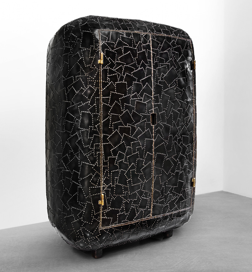 Picture Of carapace furniture collection with hard metal exterior  8