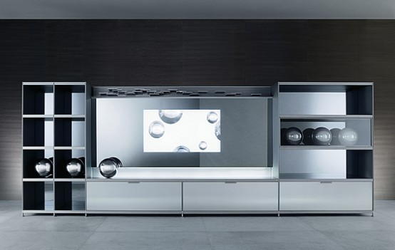 Home Central TV Unit – Cartesia from Rimadesio