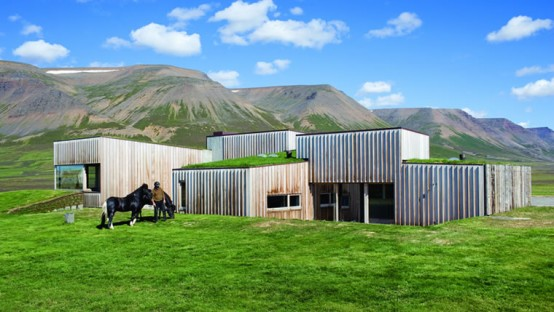 casa hof islandia country house