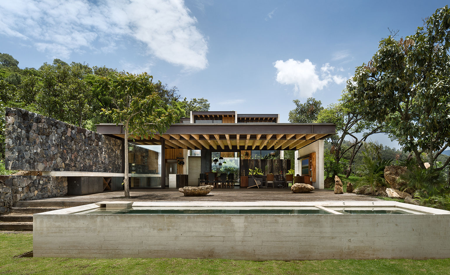 Modern house architecture designs archives digsdigs Home architecture in mexico