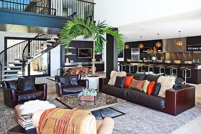 Modern castle like house on the beach digsdigs - Modern beach house interior ...