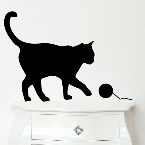 Funny Wall Stickers For Cat And Bird Lovers Digsdigs