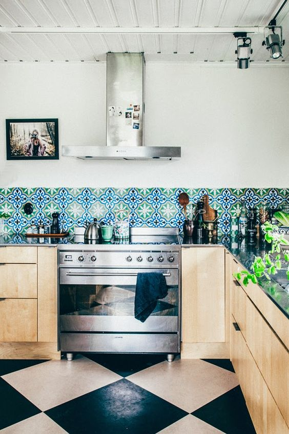 ديكورات مطابخ مودرن مفتوحه 2016 ceramic-tiles-kitche