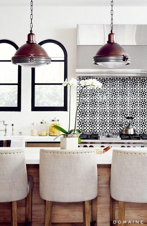 27 ceramic tiles kitchen backsplashes that catch your eye - digsdigs