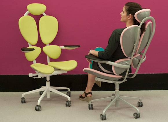 Comfortable and Productive Office Chair – Chakra Chair by Karim Rashid