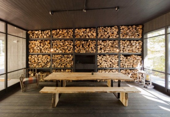 Chalet Forestier Open To The Surrounding Nature