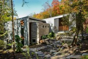 Chalet Lac Gate Inspired By The Surrounding Landscape