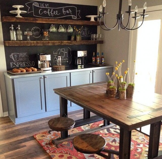 35 Kitchen Ideas Decor And Decorating Ideas For Kitchen: 31 Chalkboard Dining Room Décor Ideas You'll Love