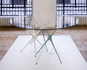 Changeable Supernova Trestle Table With Colorful Legs