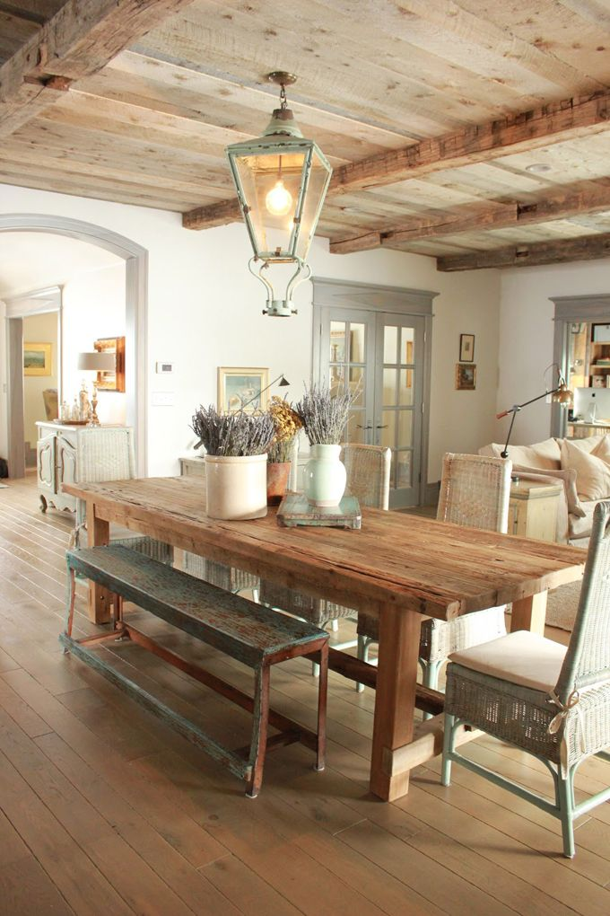33 Charming And Beautiful Provence Dining Spaces