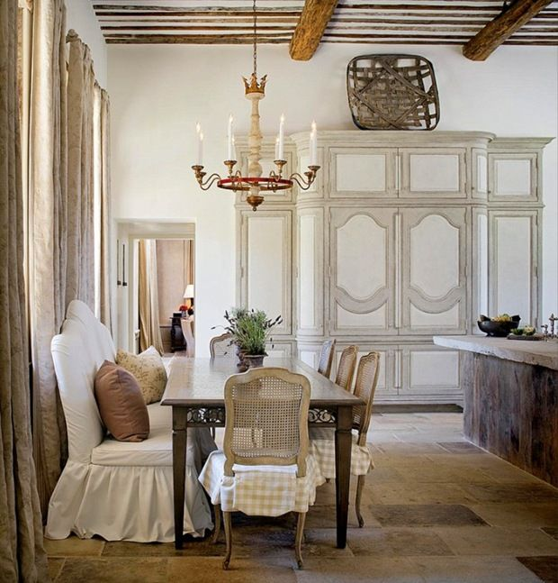Charming And Beautiful Provence Dining Spaces