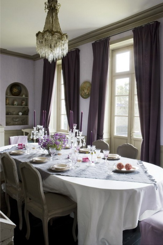 French Dining Room Decor Part - 24: Charming French Dining Room Design