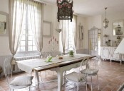 Charming French Dining Room Design