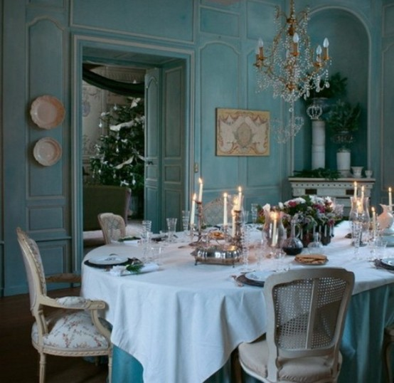 French Style Dining Room: The Champagne Social-list: Charming Country French Dining