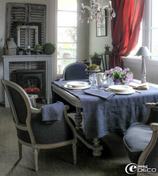 Good French Dining Room Decor Part - 6: Charming French Dining Room Design