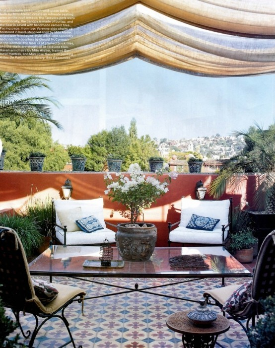 75 Charming Morocco Style Patio Designs Digsdigs