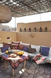 moroccan patio
