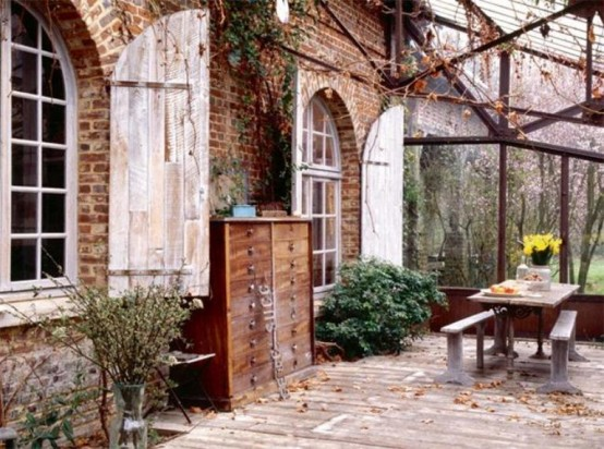 Charming Old Fashioned House In France