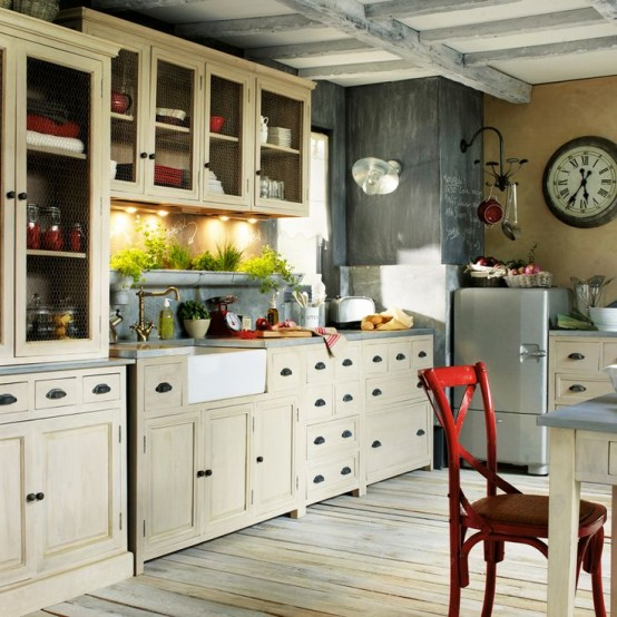 382 the most cool kitchen designs of 2015 digsdigs for Provence kitchen design