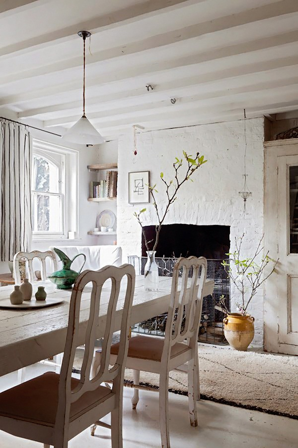 Charming Shabby Chic White House In London Digsdigs