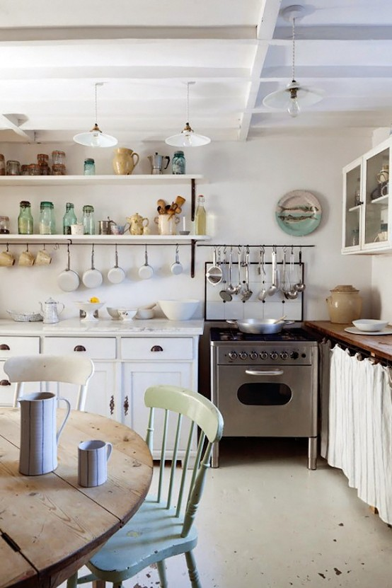 Charming Shabby Chic White House In London