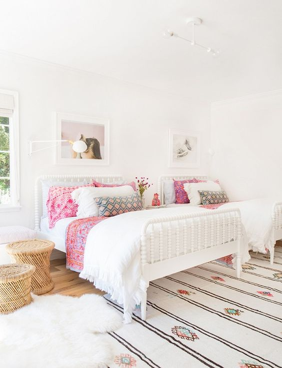 22 charming shared girl bedrooms to get inspired digsdigs