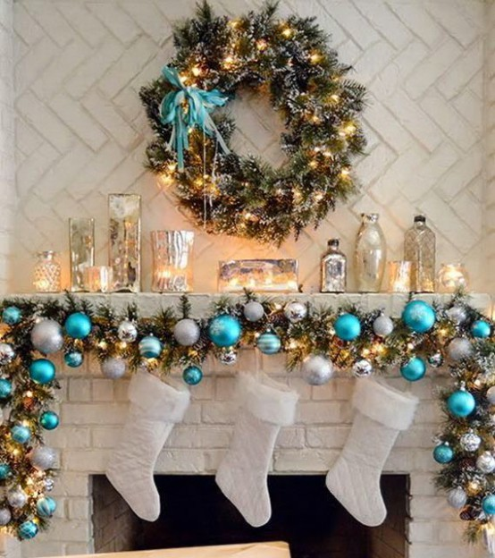 Decoration Ideas: 35 Silver And Blue Décor Ideas For Christmas And New Year