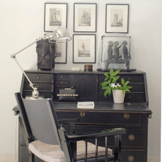 Charming Vintgae Home Offices
