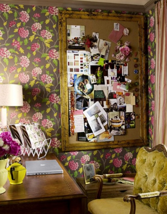 Charming Vintgae Home Offices