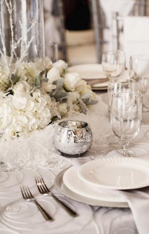 Charming Winter Centerpieces