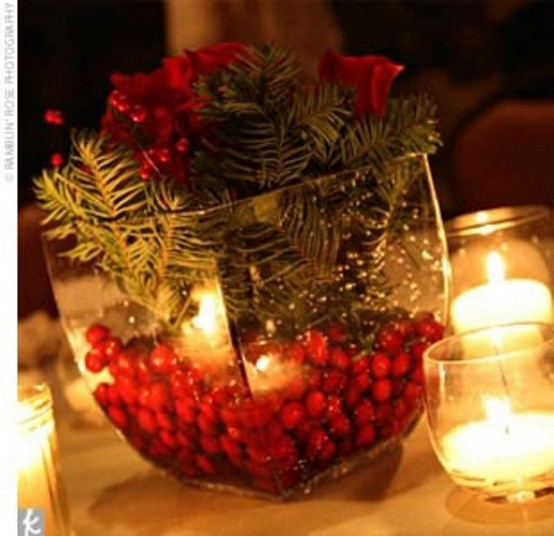 Christmas Wedding Centerpiece Ideas : Charming winter centerpieces digsdigs