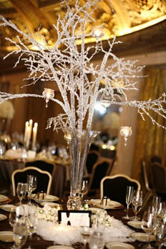 Charming winter centerpieces digsdigs