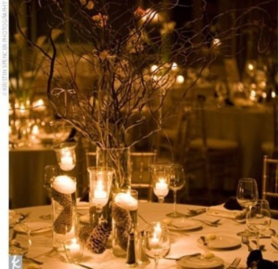 5 Green Wedding Decorations That Will Leave You Speechless: 75 Charming Winter Centerpieces