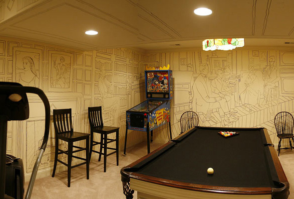 amazingly cheap and beautiful basement walls decor digsdigs