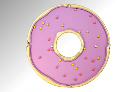 Cheerful And Playful Doughnut Pool Table