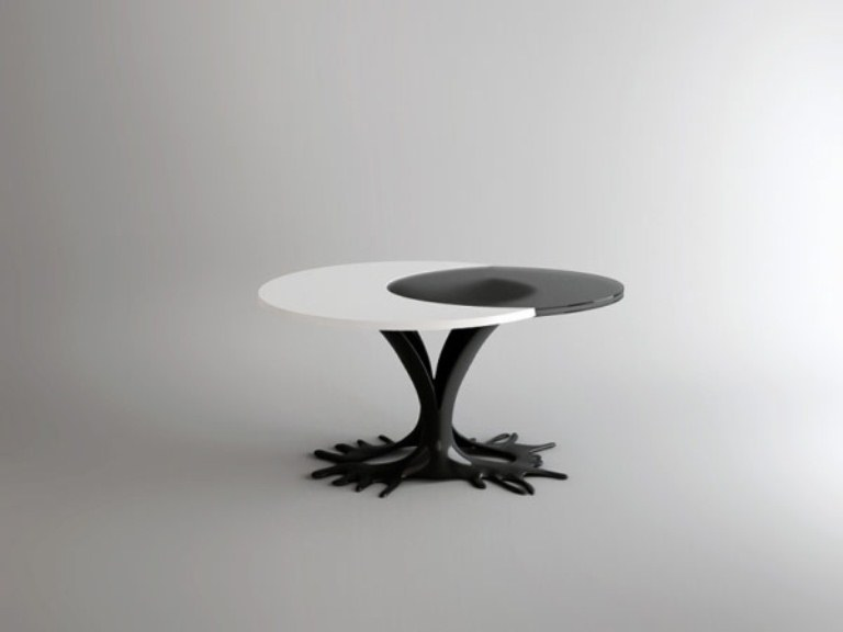 Cheerful Egg Inspired Table For People With Imagination
