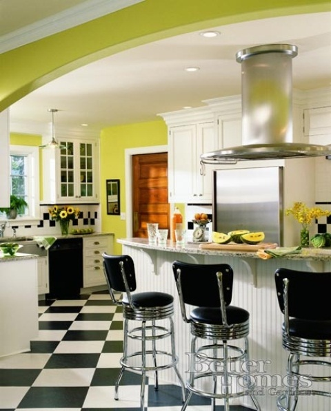 mildew green and yellow kitchen ideas Policy Sign