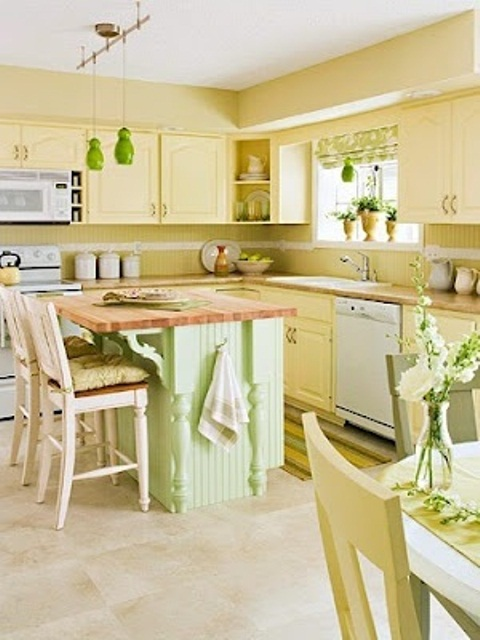 lime green and yellow kitchen cheerful summer interiors 50 green and yellow kitchen 9033
