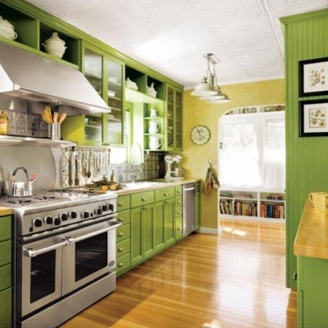 green and yellow kitchen cheerful summer interiors 50 green and yellow kitchen 3964