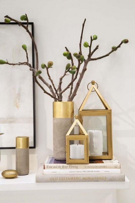 35 Chic And Bold Brass Home Decor Ideas Digsdigs