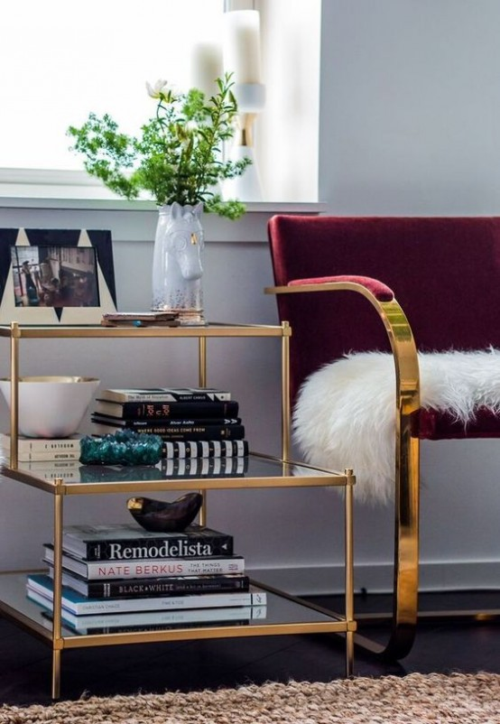 Chic And Bold Brass Home Décor Ideas