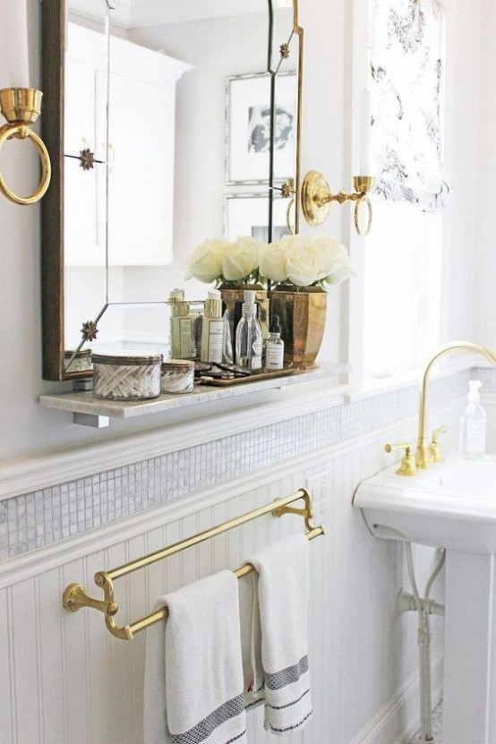 Chic And Bold Brass Home D Cor Ideas