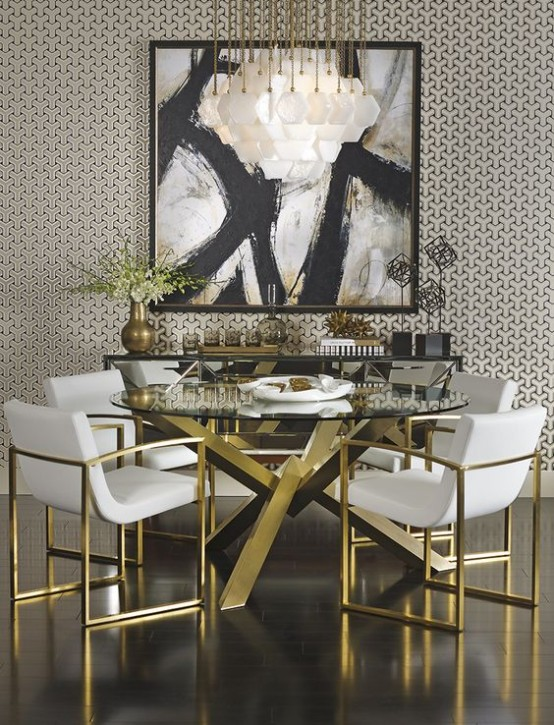 35 Chic And Bold Brass Home Décor Ideas - DigsDigs