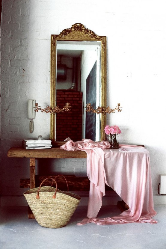 25 Chic And Cute Feminine Entryway D Cor Ideas Digsdigs
