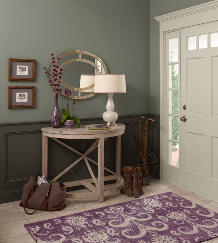 Picture Of chic and cute feminine entryway decor ideas  11