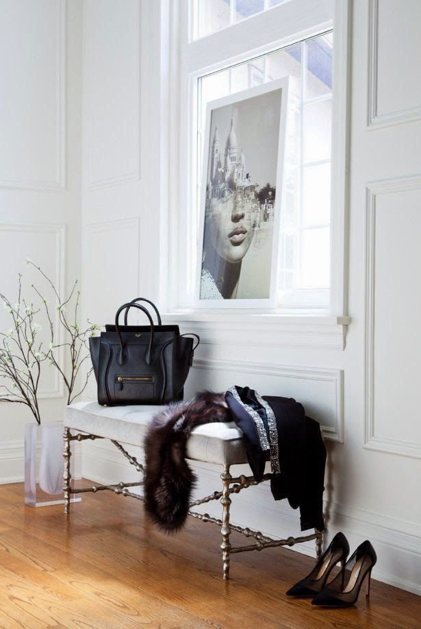 Picture Of chic and cute feminine entryway decor ideas  17