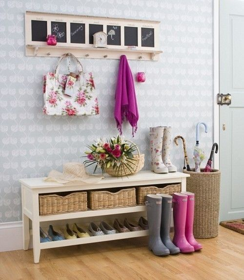 chic and cute feminine entryway dcor ideas - Entryway Decor