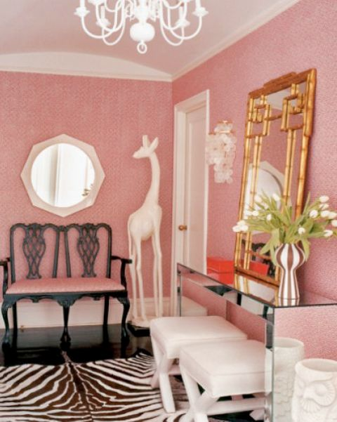 25 Chic And Cute Feminine Entryway Décor Ideas - DigsDigs