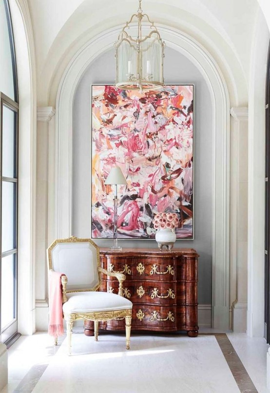 25 Chic And Cute Feminine Entryway D 233 Cor Ideas Digsdigs