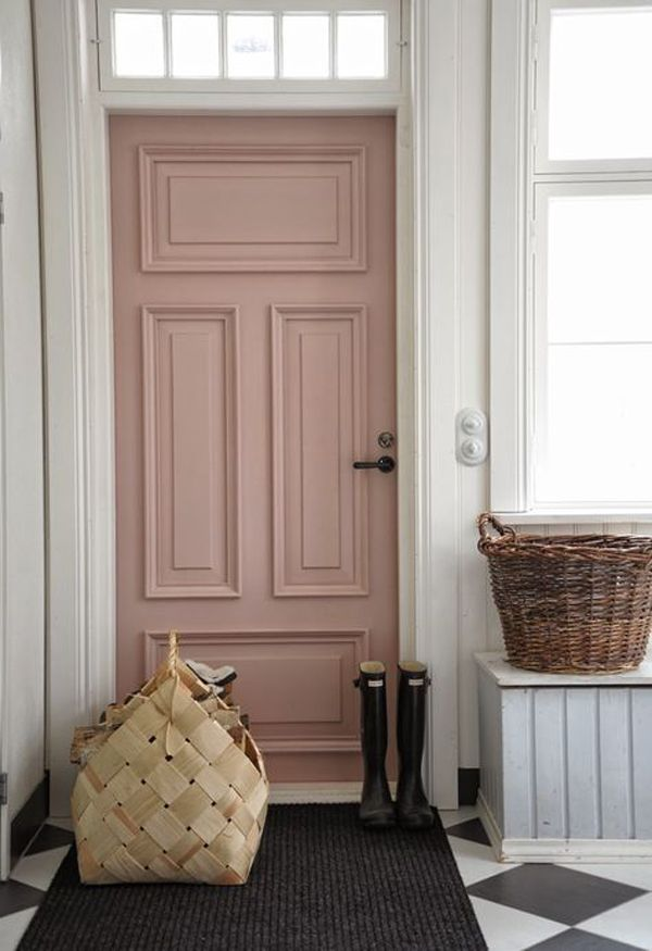 Picture Of chic and cute feminine entryway decor ideas  6